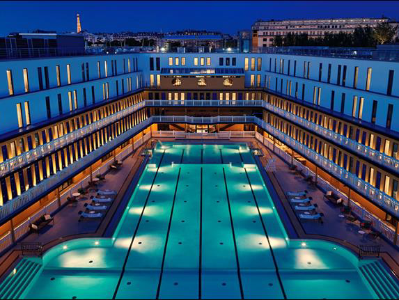Paris rooftop le rooftop molitor for Rooftop piscine molitor